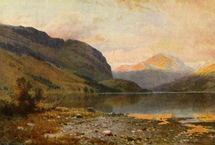 The Heart of Scotland Painted and Described - Loch Lubnaig (1909)