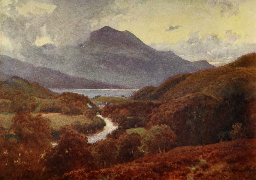 The Heart of Scotland Painted and Described - In the Macgregor Country (1909)