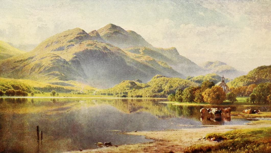 The Heart of Scotland Painted and Described - Loch Achray (1909)
