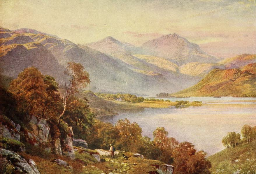 The Heart of Scotland Painted and Described - The Head of Loch Lomond (1909)