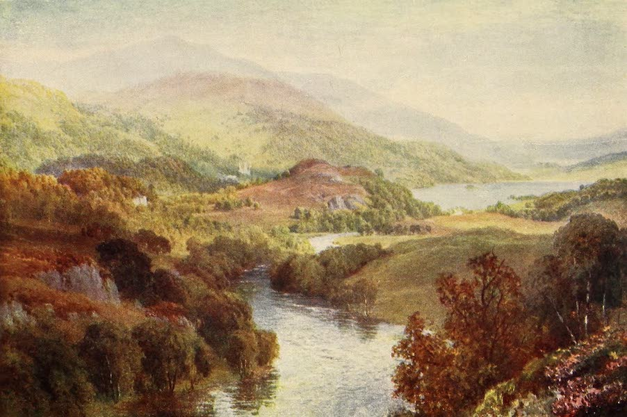 The Heart of Scotland Painted and Described - The River Teith (1909)