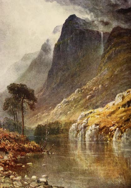 The Heart of Scotland Painted and Described - The Crags of Ben Venue (1909)