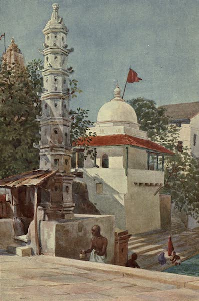 The High-Road of Empire - The Walkeshwar Temple, Bombay (1905)