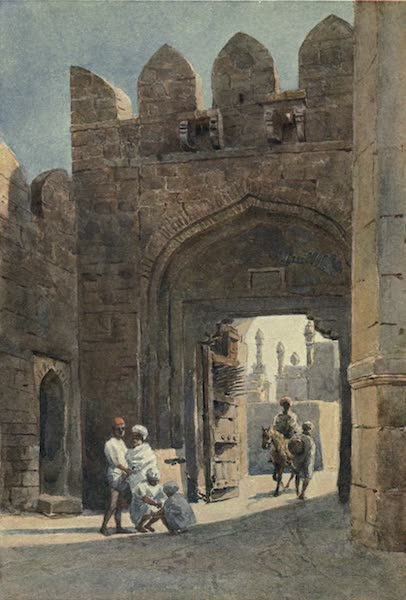 The High-Road of Empire - The Shahpur Gate, Bijapur (1905)