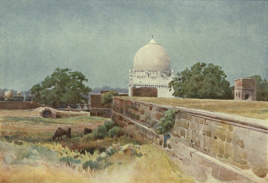 The High-Road of Empire - A Nameless Tomb, Bijapur (1905)