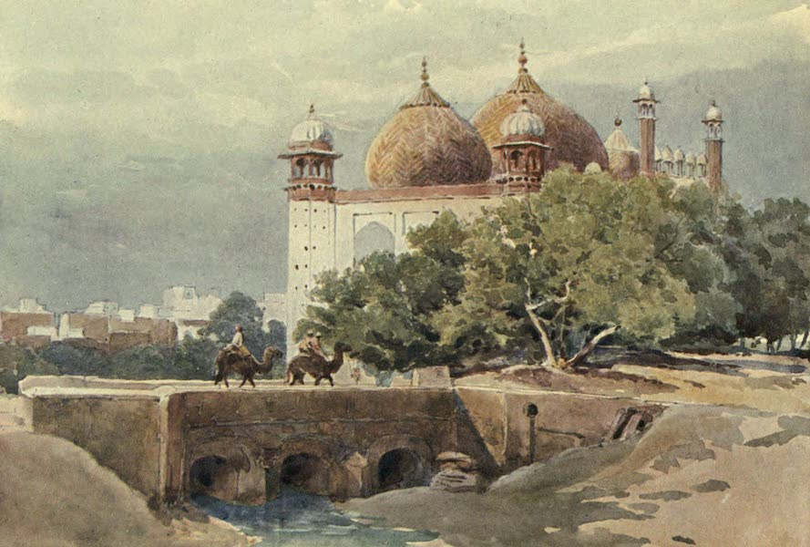 The High-Road of Empire - The Jumma Musjid, Agra (1905)