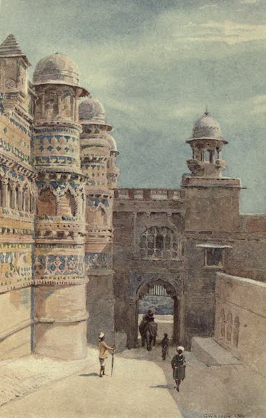 The High-Road of Empire - The Man Sing Palace, Gwalior (1905)