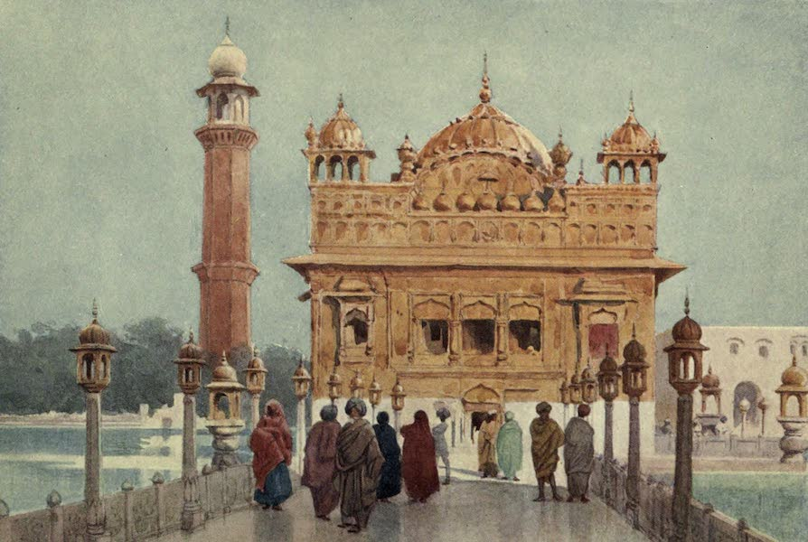 The High-Road of Empire - The Golden Temple, Amritizar (1905)