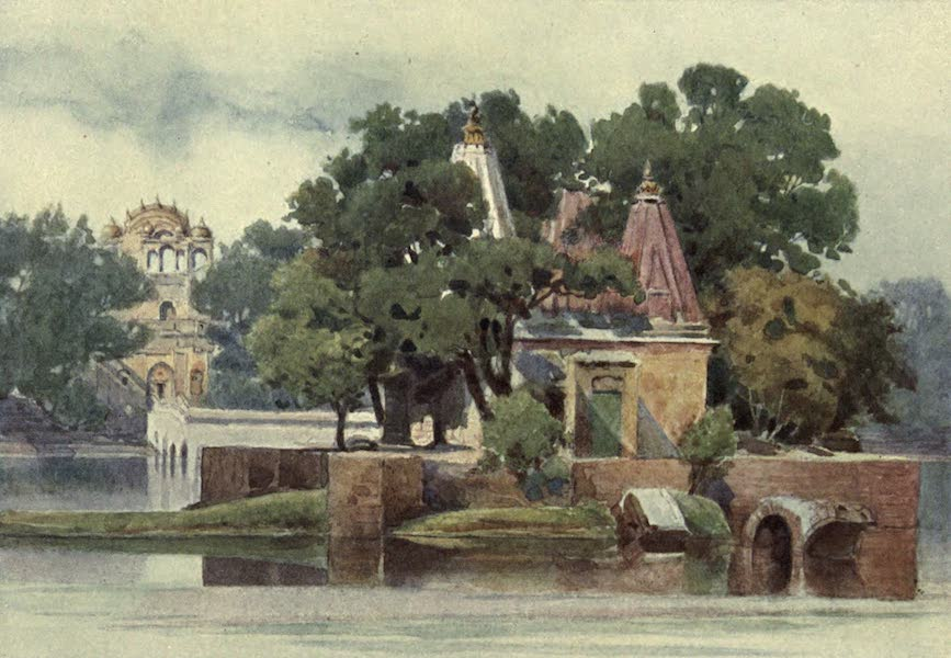 The High-Road of Empire - A Temple in the Tank at Thanesar (1905)