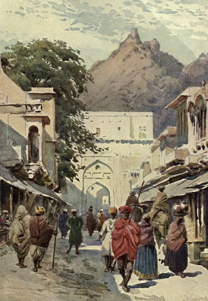 The High-Road of Empire - The Main Street of Alwar (1905)