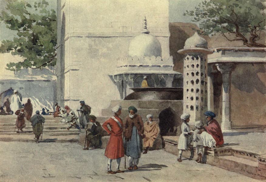 The High-Road of Empire - The Cauldron at the Entrance to the Dargah, Ajmere (1905)