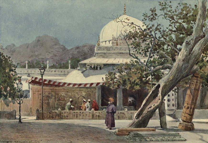 The High-Road of Empire - The Tomb of Khwajah Muin-ud-Din Chisti in the Dargah, Ajmere (1905)