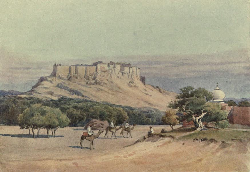 The High-Road of Empire - Jodhpur - General View of the Fort (1905)