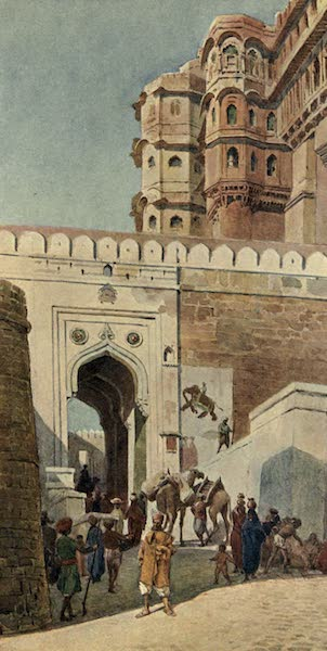 The High-Road of Empire - The Ascent to the Palace, Jodhpur (1905)