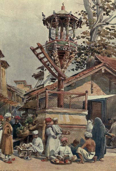The High-Road of Empire - A Feeding-Place for Birds, Ahmedabad (1905)