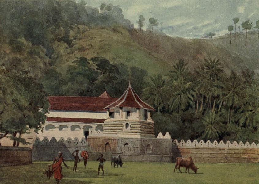 The High-Road of Empire - The Temple of the Tooth, Kandy - Exterior (1905)