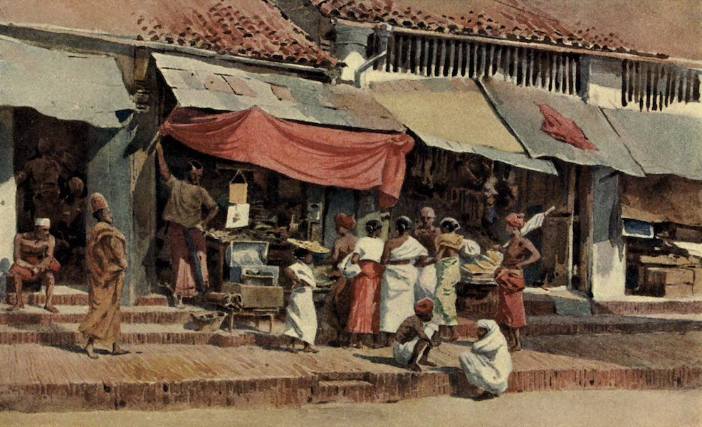 The High-Road of Empire - A Street Scene in Kandy (1905)