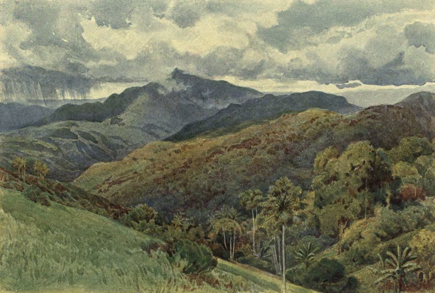 The High-Road of Empire - The Mountains from Pallekelly (1905)