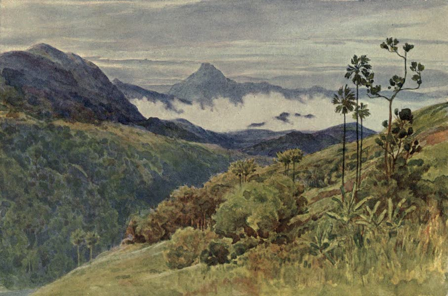 The High-Road of Empire - Morning Mists in the Valley of the Mahawelli Gangha (1905)