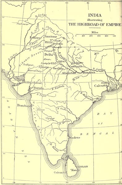 The High-Road of Empire - India Illustrating the Highroad of Empire (1905)