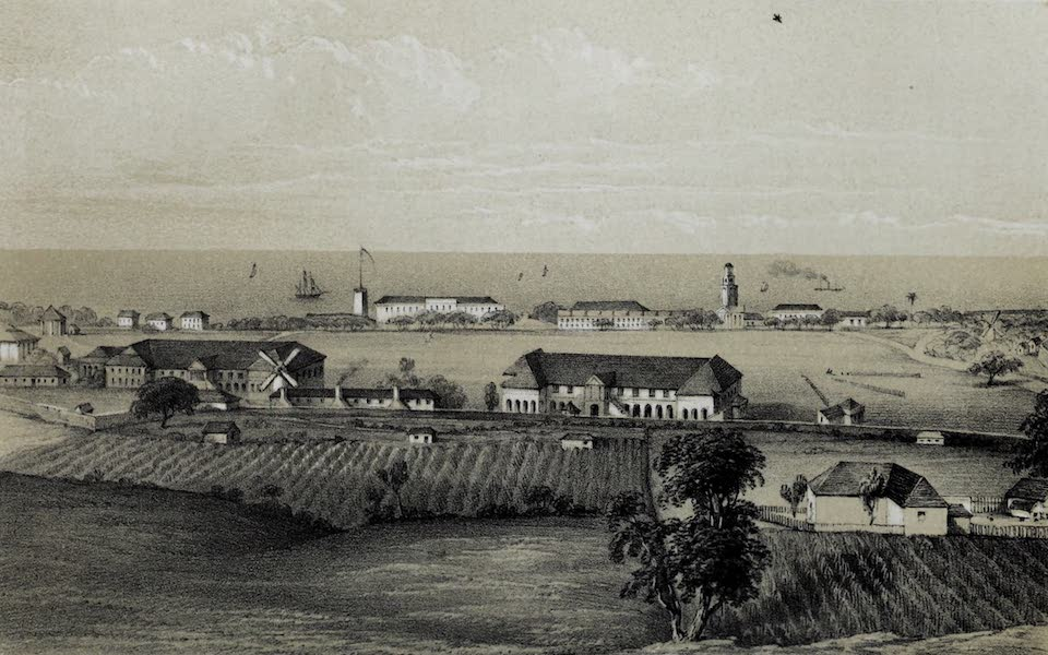 The History of Barbados - St. Ann's Garrison in Barbados (1848)