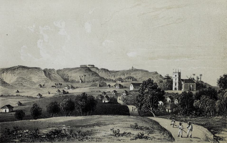The History of Barbados - St. Philips Church and Moncreiffe in Barbados (1848)