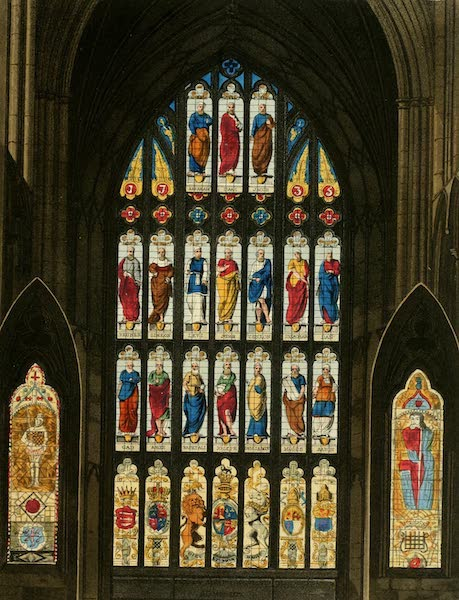 The History of the Abbey Church of St. Peter's Westminster Vol. 2 - West Windows, Westminster Abbey (1812)