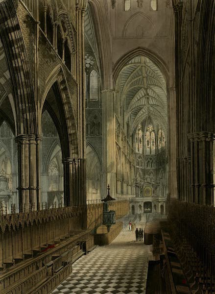 The History of the Abbey Church of St. Peter's Westminster Vol. 2 - The Choir, Westminster Abbey (1812)