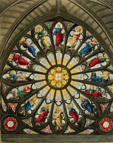 The History of the Abbey Church of St. Peter's Westminster Vol. 2 - North Window (1812)