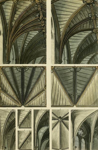 The History of the Abbey Church of St. Peter's Westminster Vol. 2 - Fragments of Ceilings &c &c (1812)