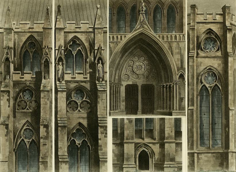 The History of the Abbey Church of St. Peter's Westminster Vol. 2 - Fragments, Windows, Doors &c, Westminster Abbey (1812)