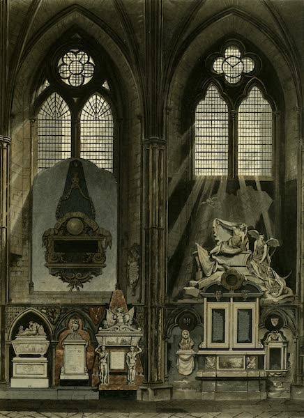 The History of the Abbey Church of St. Peter's Westminster Vol. 2 - Sixth & Seventh Window, South Aisle (1812)