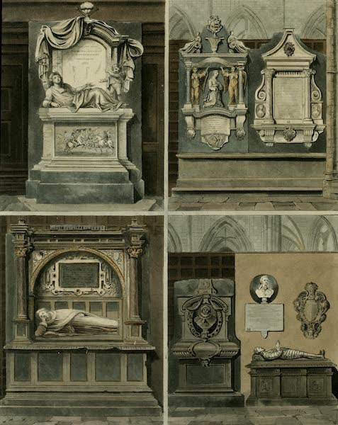 The History of the Abbey Church of St. Peter's Westminster Vol. 2 - South Aisle (1812)