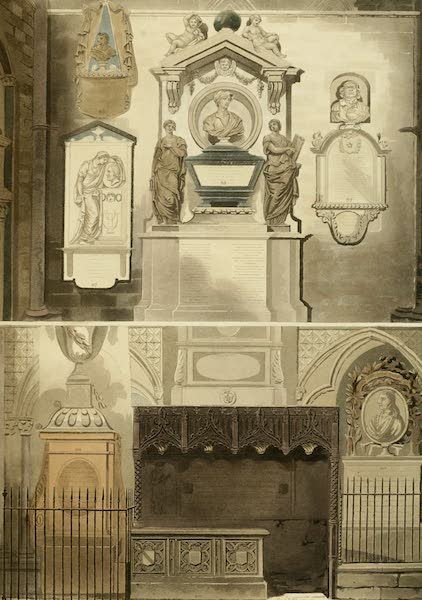 The History of the Abbey Church of St. Peter's Westminster Vol. 2 - Poets Corner Westminster Abbey (1812)