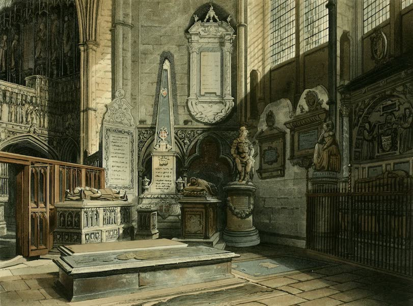 The History of the Abbey Church of St. Peter's Westminster Vol. 2 - East View of St. Edmund's Chapel (1812)