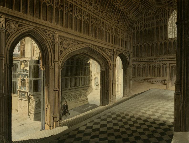The History of the Abbey Church of St. Peter's Westminster Vol. 2 - Porch of Henry VII Chapel (1812)