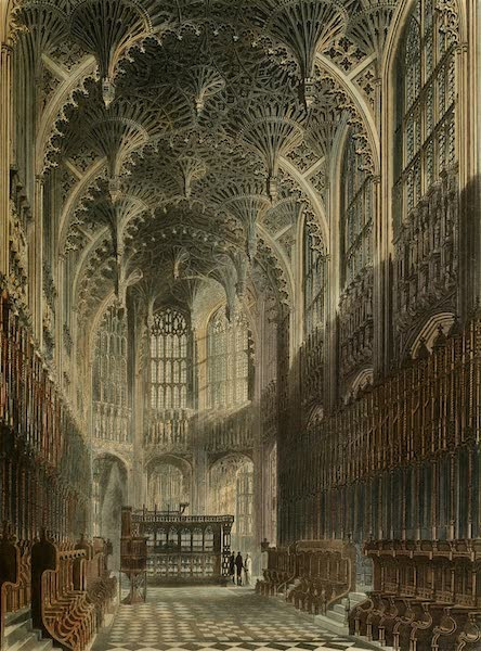 The History of the Abbey Church of St. Peter's Westminster Vol. 2 - Henry the Seventh Chapel, Westminster Abbey (1812)