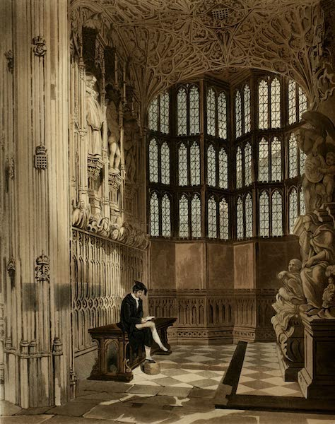 The History of the Abbey Church of St. Peter's Westminster Vol. 2 - Henry 7th Chapel (1812)