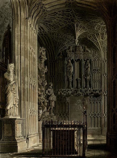The History of the Abbey Church of St. Peter's Westminster Vol. 2 - East End of South Aisle (1812)