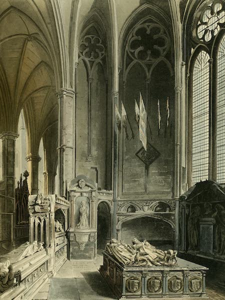 The History of the Abbey Church of St. Peter's Westminster Vol. 2 - West Side of St. Erasmus Chapel (1812)