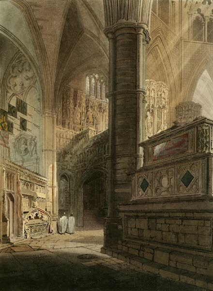 The History of the Abbey Church of St. Peter's Westminster Vol. 2 - North East Area (1812)