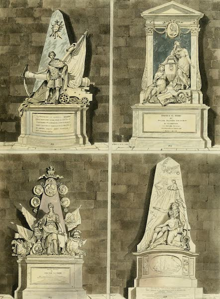 The History of the Abbey Church of St. Peter's Westminster Vol. 2 - North Aisle (1812)