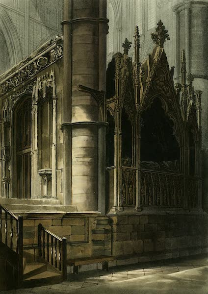 The History of the Abbey Church of St. Peter's Westminster Vol. 2 - A Part of the Screen of Edward the Confessor (1812)