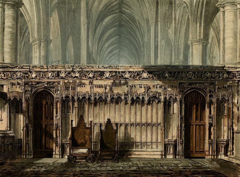 The History of the Abbey Church of St. Peter's Westminster Vol. 2 - The Screen of Edward the Confessor (1812)