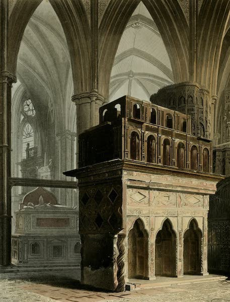 The History of the Abbey Church of St. Peter's Westminster Vol. 2 - Edward the Confessor's Monument, Edward the Confessor's Chapel (1812)