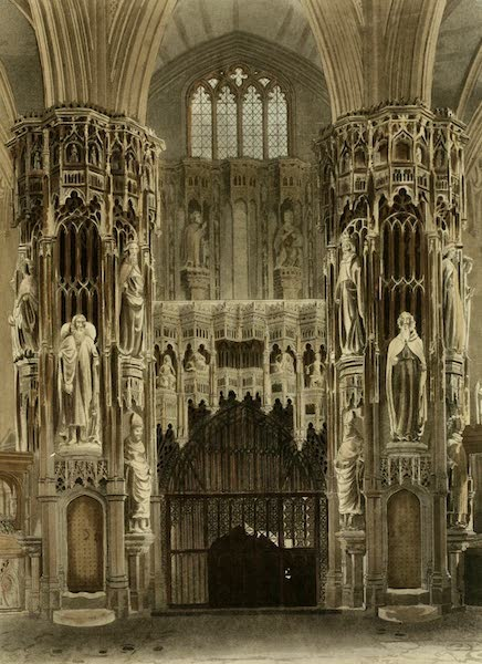 The History of the Abbey Church of St. Peter's Westminster Vol. 2 - Henry the Fifth Chapel (1812)