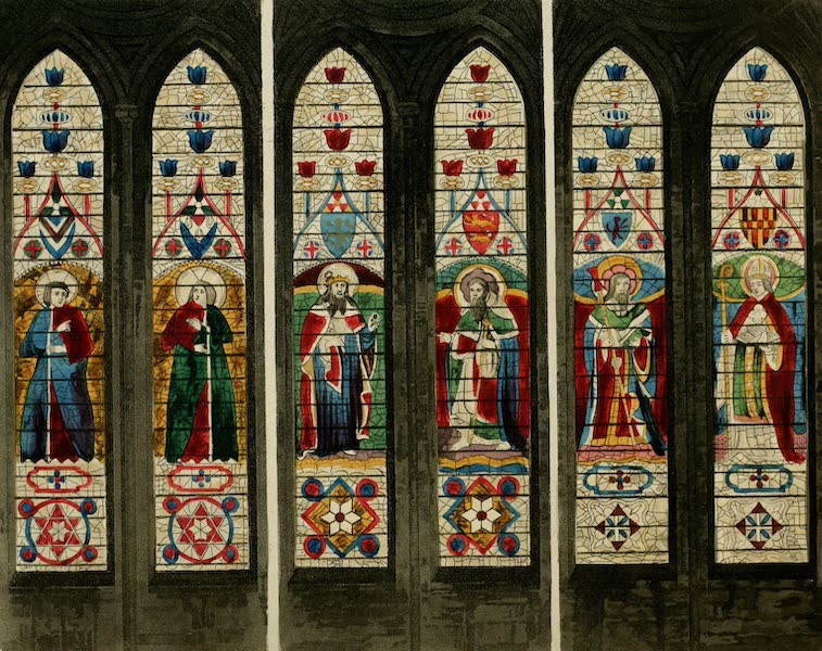 The History of the Abbey Church of St. Peter's Westminster Vol. 2 - East Windows (1812)