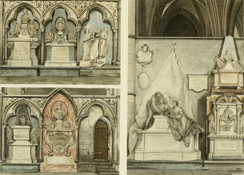 The History of the Abbey Church of St. Peter's Westminster Vol. 2 - North Cross (1812)