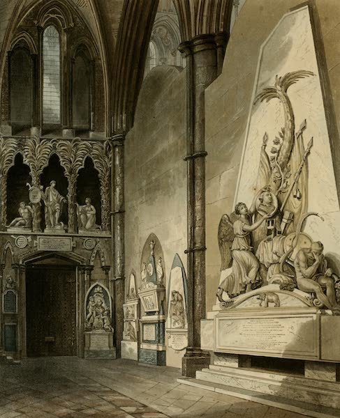 The History of the Abbey Church of St. Peter's Westminster Vol. 2 - North Transept (1812)