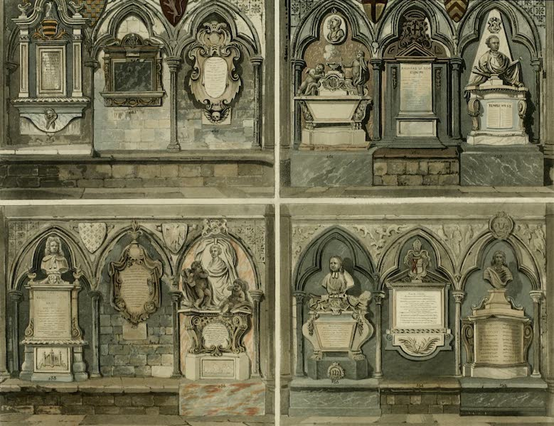 The History of the Abbey Church of St. Peter's Westminster Vol. 2 - [12 Monuments] (1812)